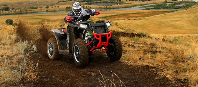 The Polaris 850 Scrambler
