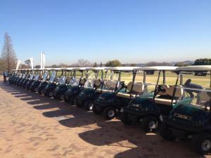 ClubCar Carts at CopperLeaf