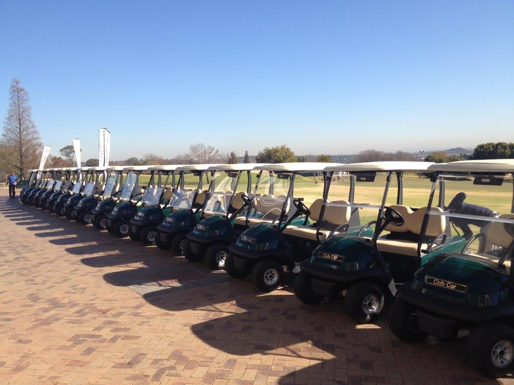 ClubCar Carts at CopperLeaf