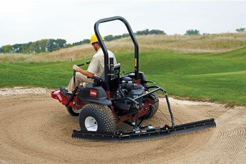 NEW SAND PRO FROM TORO RAKES IN THE ORDERS