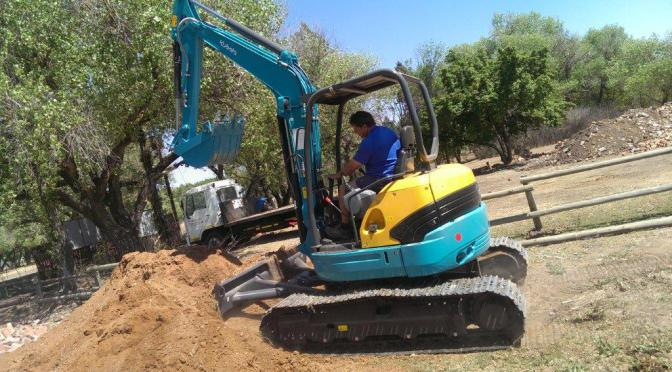 Pretorius Plant Hire takes on Kubota Mini Excavators
