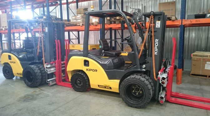 Namibian Breweries Opt for Kipor Forklifts
