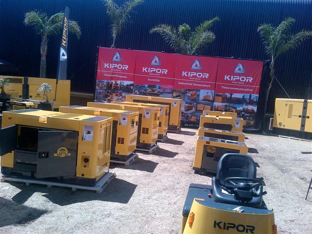 Kipor Generators - Show