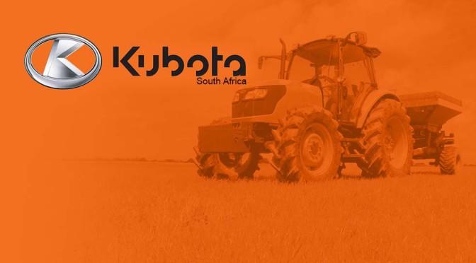 Kubota: Vir die boer vir wie net die beste goed genoeg is