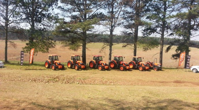Kubota Powers Up