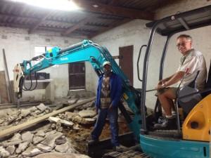 U50 on a construction site. Richard Wichmann