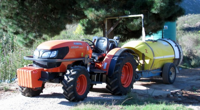 Farmers Shout for Kubota