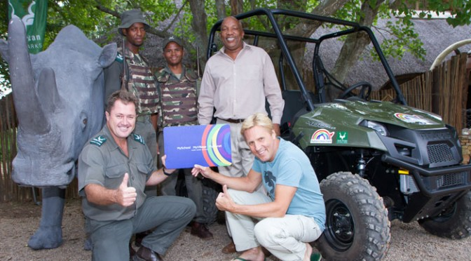 Addo's new wheels against poaching