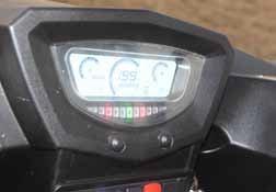 Linhai 800 - Digital Dashboard
