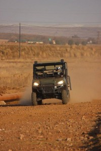 Polaris Ranger 570 at 80kph