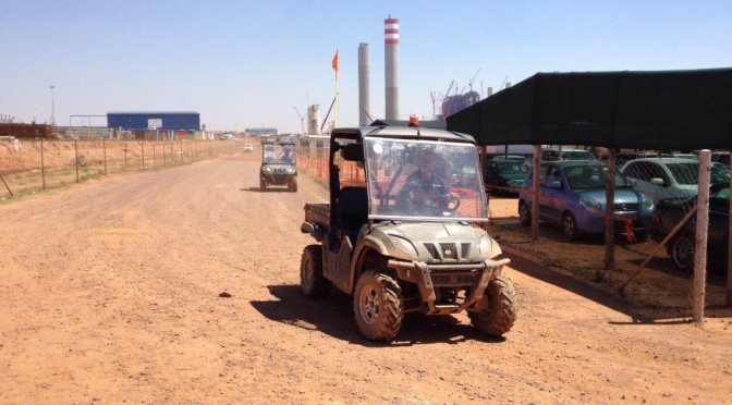 Linhai UTV's cut costs at Power Station