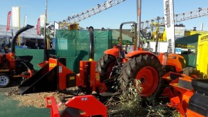 Kubota and BearCat at NAMPO 2015