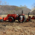 Anro Safaris with Kubota Tractor and RTV with a BearCat