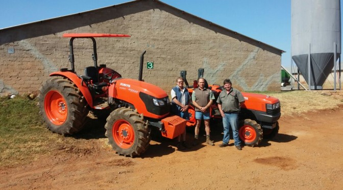 First New Kubota Tractors for Piekniet