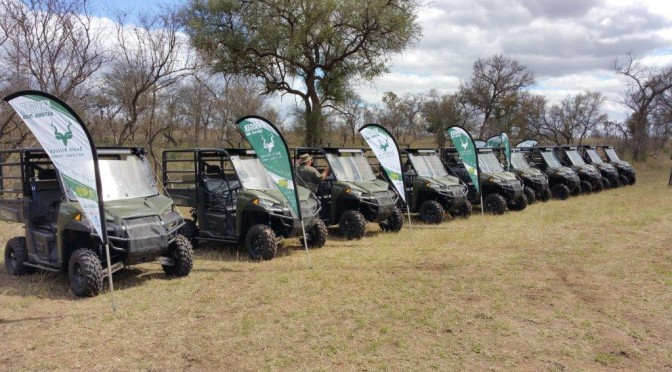 Kruger National Park Gets Polaris Ranger for Patrol