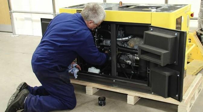 Maintain your Kipor generator for optimum ROI.