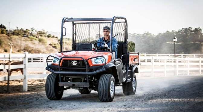 The Prince of deed – The Kubota RTV X900