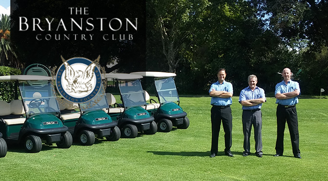 Bryanston Country Club Changes to Club Car