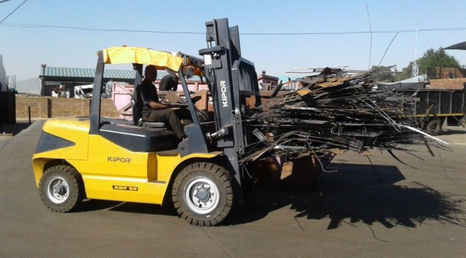 Kipor in Forklift Coup at Metal Connection