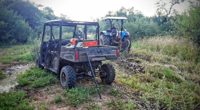 Polaris Ranger Power at Deelkraal Wildlife Reserve