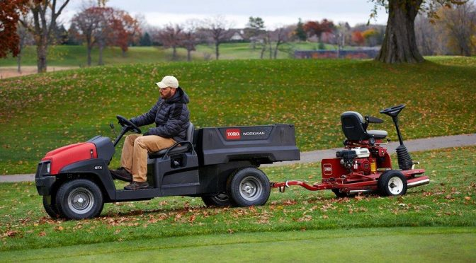 TORO'S WORKMAN GTX SERIES – THE FUTURE IS HERE
