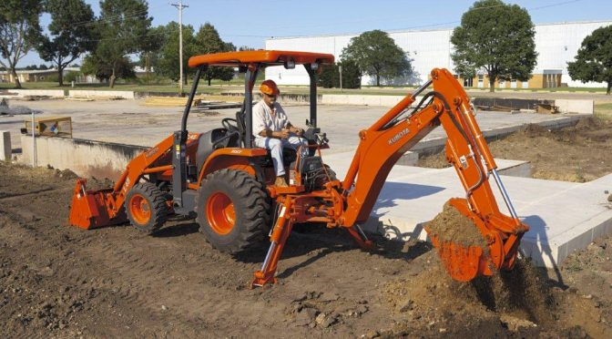 Kubota: At the digging edge