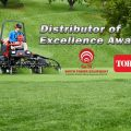 Toro Distributor of Excellence Award