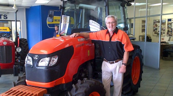 """Mfundisi"" – changing the tractor landscape for black farmers in Kwa-Zulu Natal."