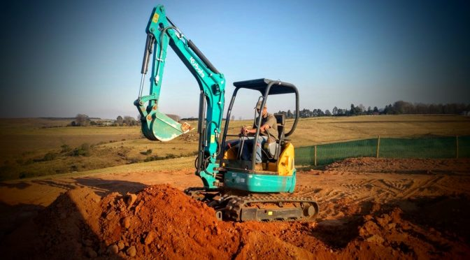 Kubota's U30 mini-excavator on the rise in KZN