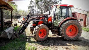 Kubota M9540 with MX loader