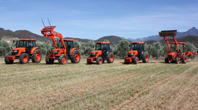 Kubota and Olive Branches – a heavenly combination