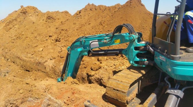 Rand Water contractor Sinned says Kubota is like Heaven