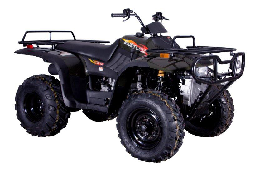 Quad bikes and side-by-side vehicles used for rough terrains - Smith
