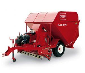 Rake-o-vac Toro Engine Drive Rake