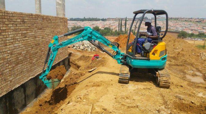 Plumbing job for Kubota's U30 compact excavator