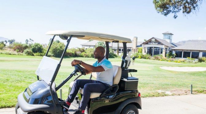 Club Car used by Golfers at Pearl Valley
