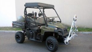 Fully Kitted Polaris Ranger 570 by Maverick Motorsport