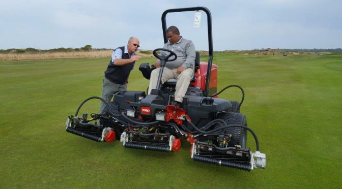 TORO – Groundbreaking Hybrid Fairway Mower saving 20% of fuel
