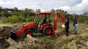 2Hire with the Kubota TLB L45 - 45HP