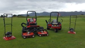 Toro Equipment provided to Pearl Valley with 4 Hoverpros