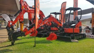 Kubota Excavators at Bauma 2018