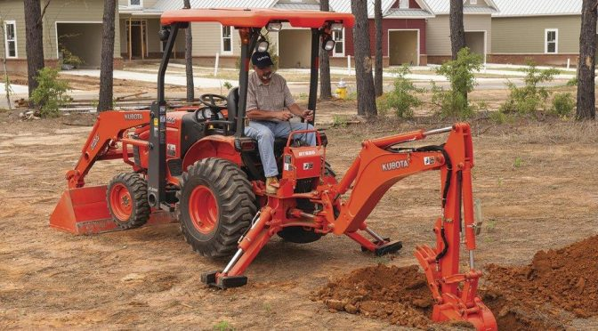 Smith Power launches new Kubota B26 TLB