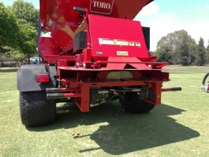 Gravity fed Twin Spinner on Top Dresser