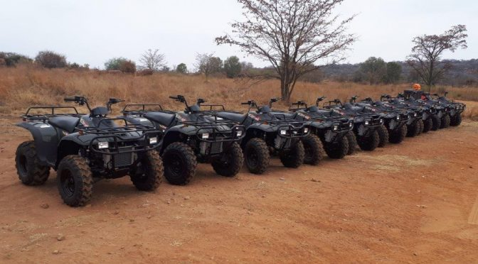 10 Linhai Rustler quad bikes for Adventure Zone