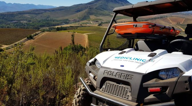 Polaris Ranger 570 - On Cape Epic Race