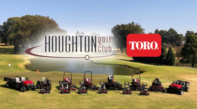 Toro Keeping standards high at Houghton Golf Club
