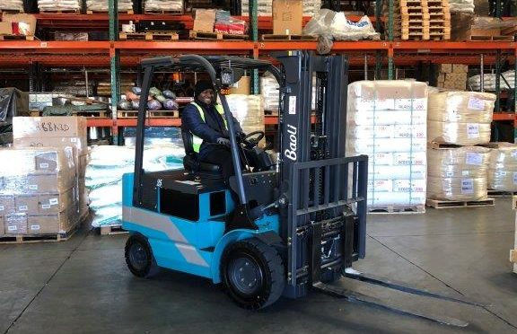 Baoli electric forklift for Heneways