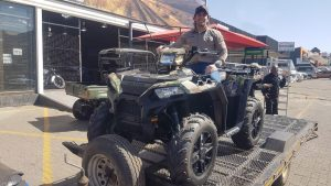 Leander Pienaar on new Sportsman from Polaris