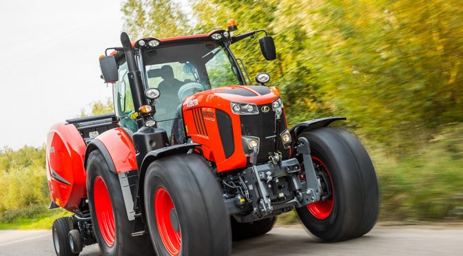 M7 A new flagship tractor for Kubota in SA