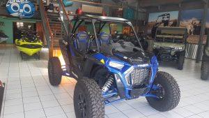 Polaris Blue RZR